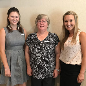 Townsville Therapy Pro team members Chelsea, Robyn and Rach